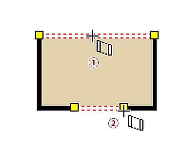 壁の削除や開口部を設定する