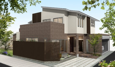 玄関土間のある家