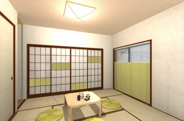 現代風ナチュラルモダンな和室空間