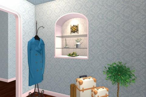 壁装飾ニッチ