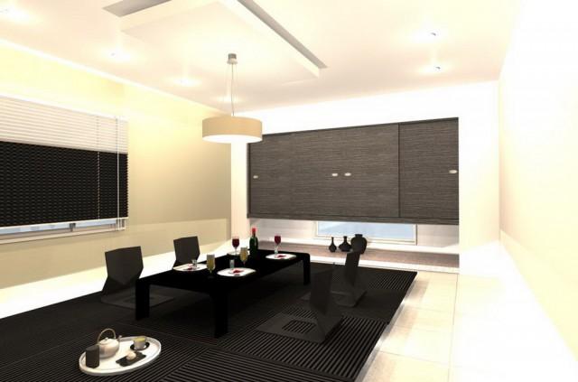スタイリッシュモダンな和室空間