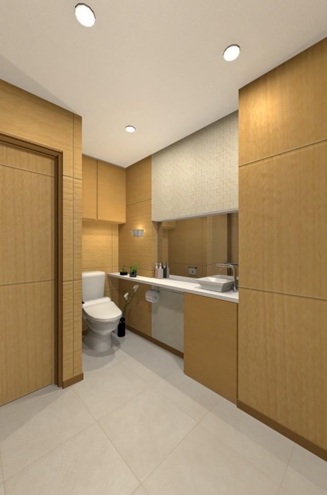 デザイナーズマンショントイレ