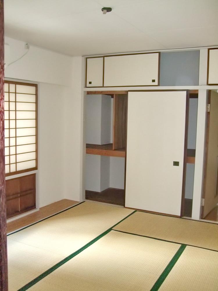 元のマンションの一室