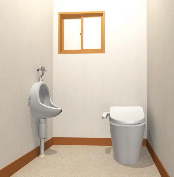 新旧混在したパーツ_トイレ