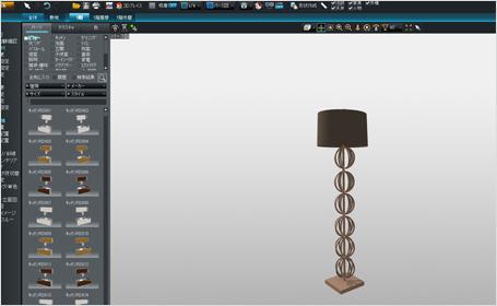 3Dマイホームデザイナーでテクスチャ貼り