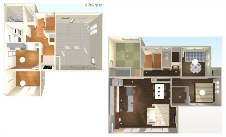 【3DCGで見せれば、お客様に空間を把握してもらいやすくなります】