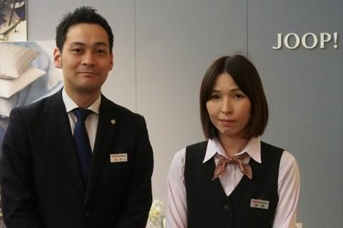東京インテリア家具大阪本店 木村さんと菅野さん