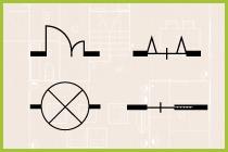 CADで使える図面記号一覧
