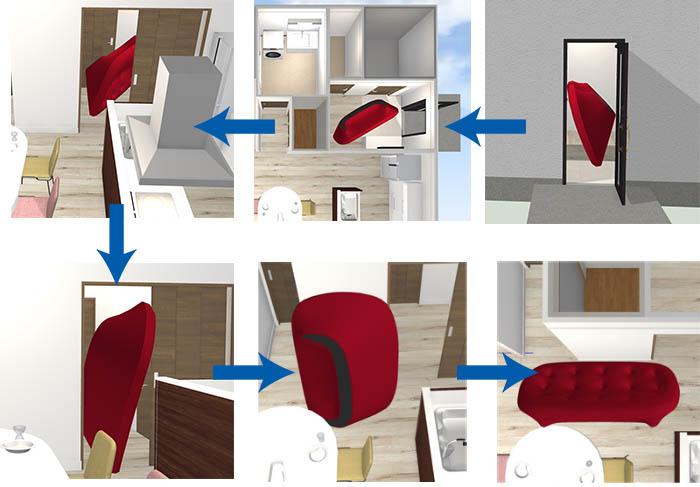 【家一棟を作っておけば、搬入可能かどうかも正確に検討できる。】