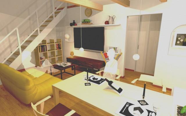 【3Dマイホームデザイナーで作成した内観提案パース】
