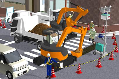 土木建設用イラスト作成ツール3d工事イラストワークス