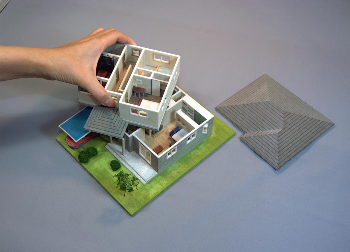 住宅デザインソフトで作った ...