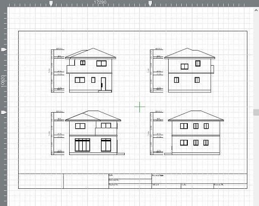 立面図をレイアウトする-よくあるご質問-3Dデザイナーシリーズ ...