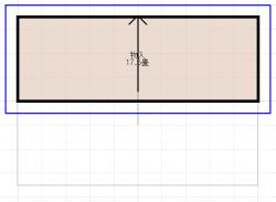3階の屋根伏図